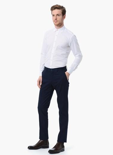 NetWork Slim Fit Uzun Kollu Klasik Gömlek Beyaz